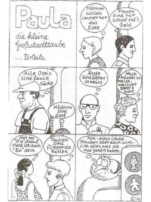 Paula-Comic 'Urteile', © Tierbefreiungsoffensive Saar e. V.