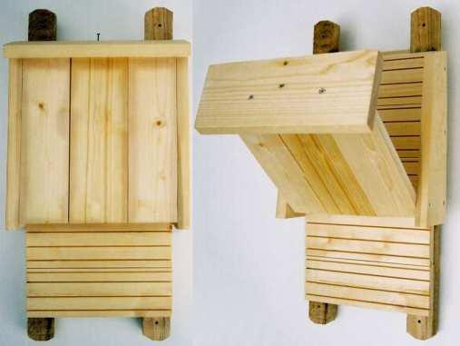 Auch für Fledermäuse kann man Kästen selbst bauen, © Dagmar Offermann