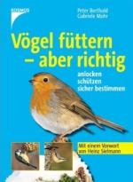 """Cover des Buchs """"Vögel füttern - aber richtig"""""""