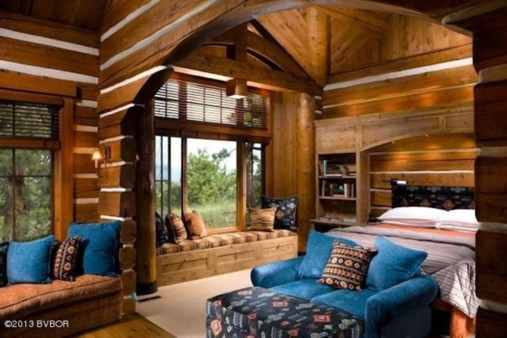 Best Log Home Bedrooms Pictures - Home Decorating Ideas ...