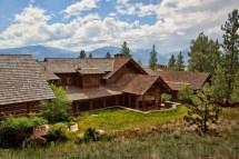 Montana Log Home Style