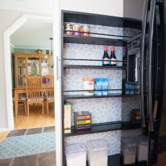 How To Add A Pantry Your Kitchen Large Islands With Seating The Space Saving Rolling Diy Tutorial