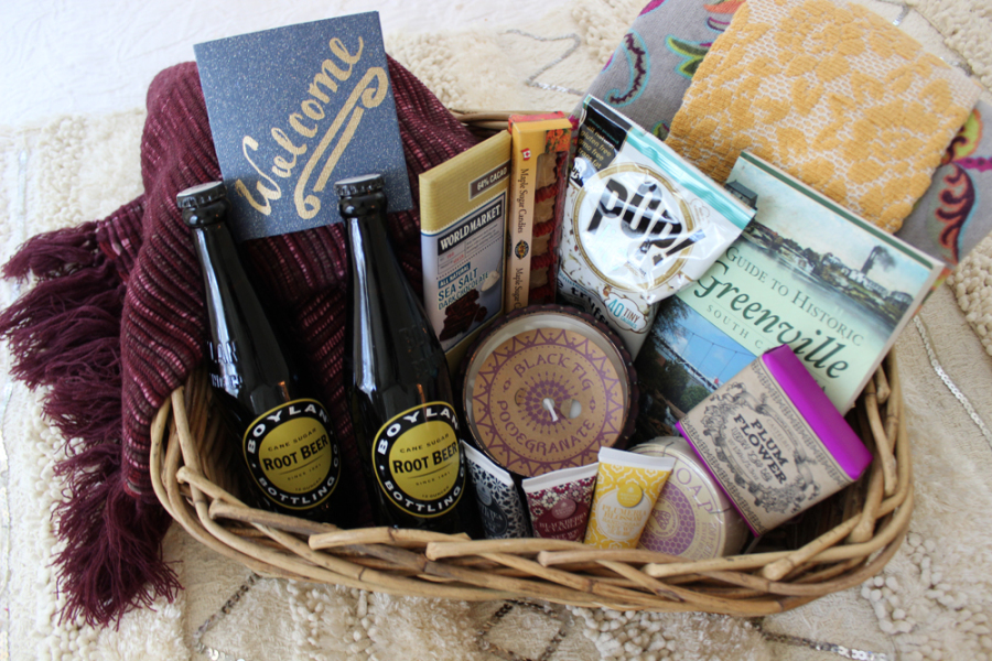5 Steps To The Perfect Guest Welcome Basket