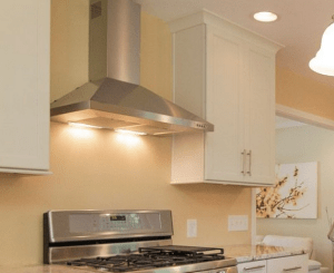 roof exhaust vents for kitchens white subway tile kitchen backsplash do i need a range hood over my stove?