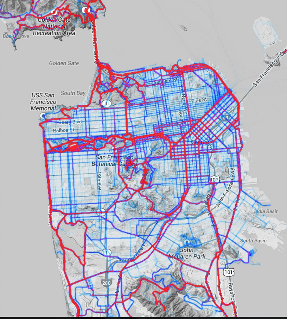 The Urban Cyclists Guide To San Francisco HotPads Blog - San francisco bike map