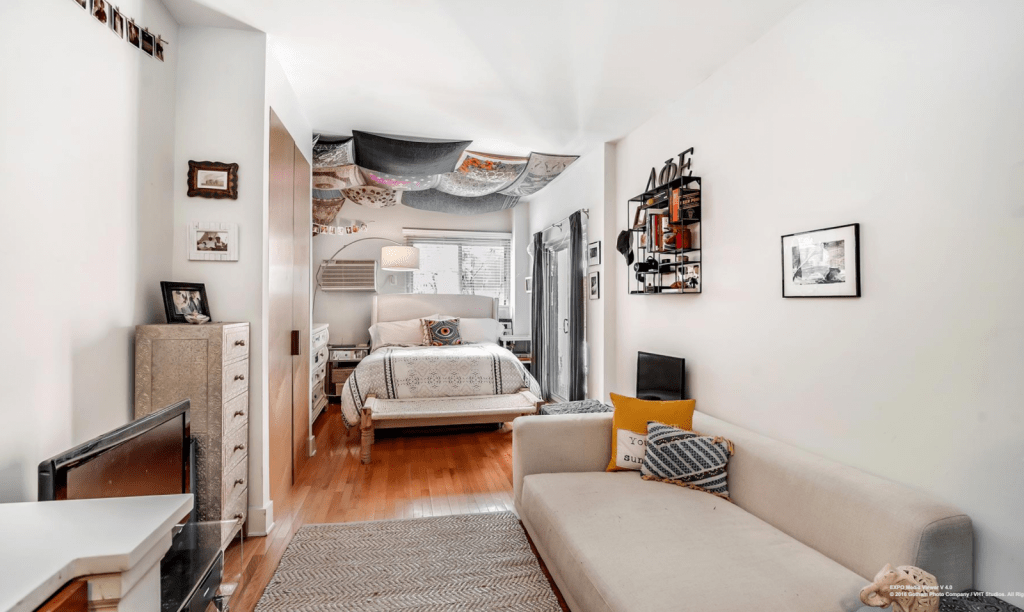 living room furniture for studio apartments convert sunroom to 6 tips on in a apartment streeteasy