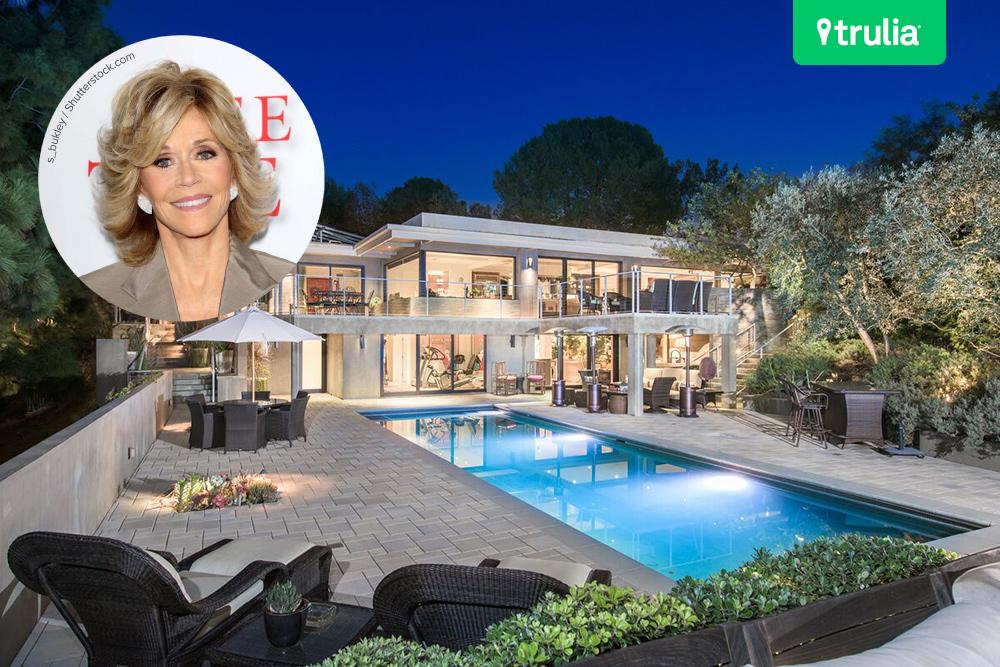 Jane Fondas Beverly Hills Mansion Hits The Market
