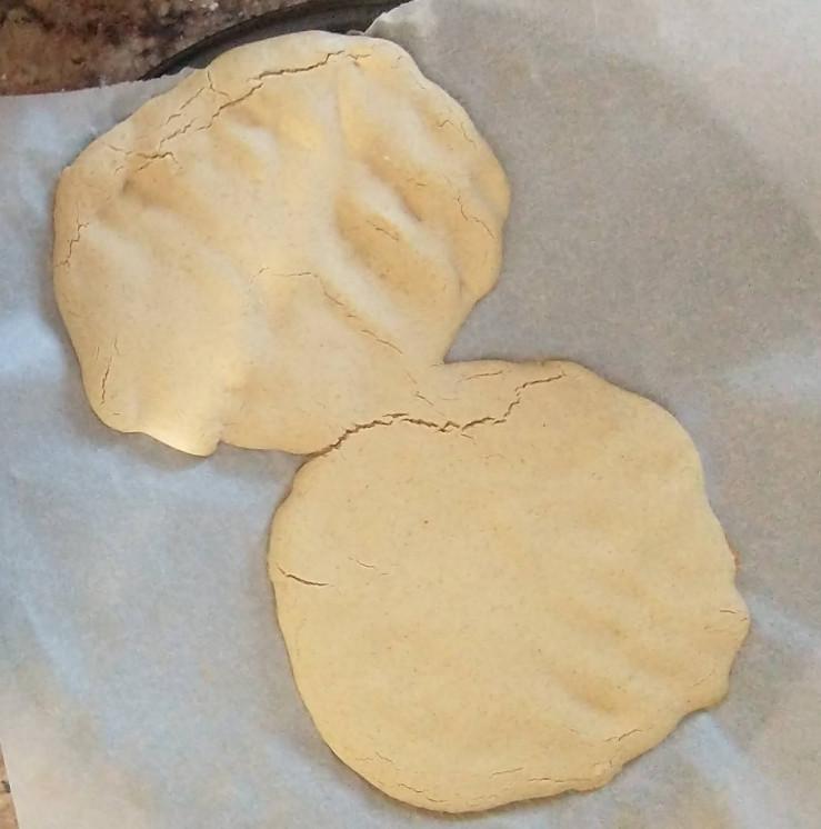 half baked gluten free pizza dough