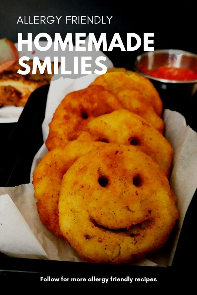pinning image for gluten free homemade smilies