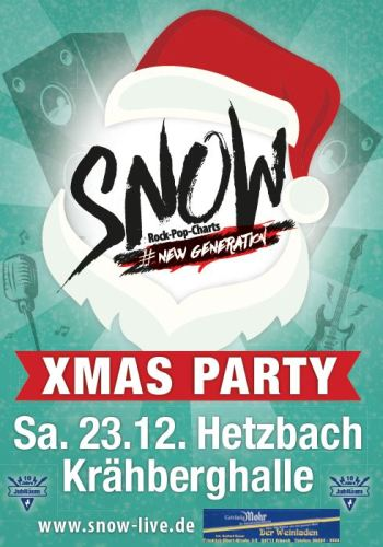 X-Mas Party mit SNOW in Hetzbach