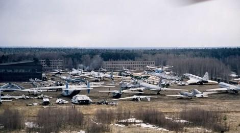 cimitero degli aerei