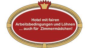 Fair. Menschenunwürdige Arbeitsbedingungen im Hotel? Nicht in der Residenz!