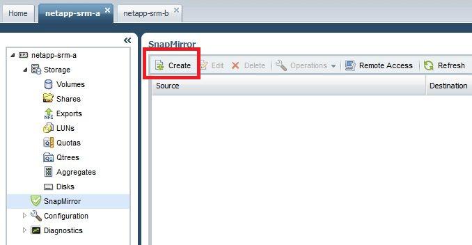 SRM Tutorial Part 5: Configure NetApp SnapMirror