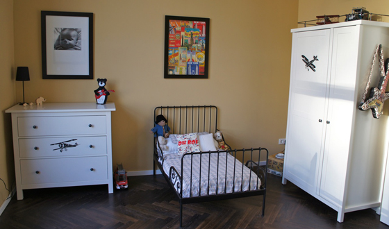 Real Kids Room Berlin Loft bed corner