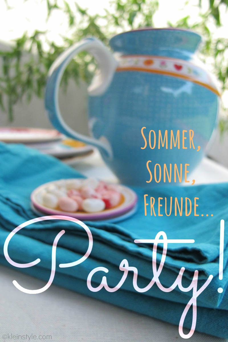 lief party (Sommer, sonne, Freunde, Party, ©kleinstyle.com
