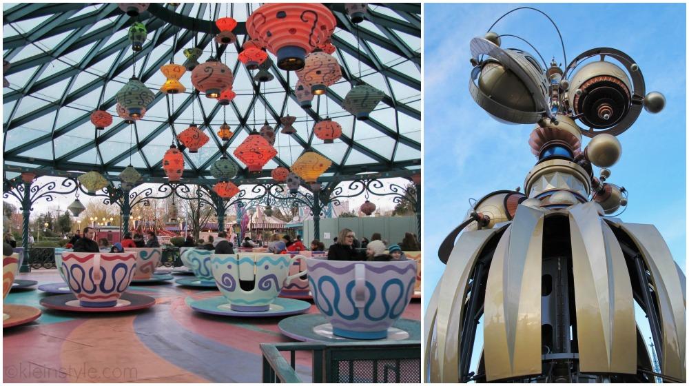Disneyland Paris Disney Park Rides Orbitron und Mat Hatters Tea cups pic ©kleinstyle.com