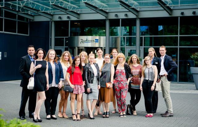 Bloggerworkshop Radisson Blu Frankfurt Gruppenfoto