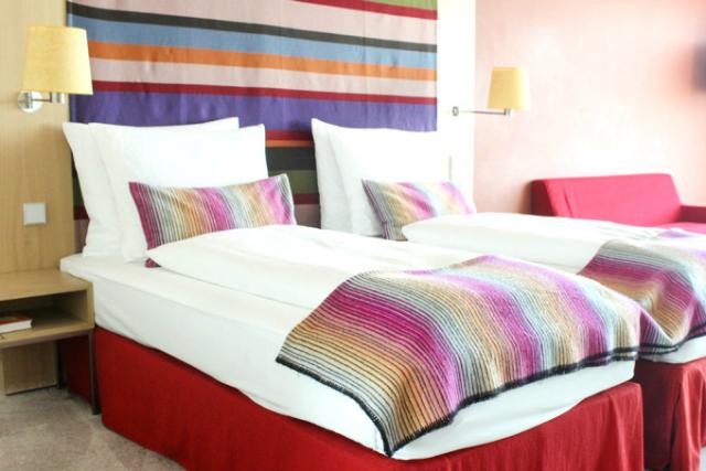 Radisson Blu Frankfurt Hotelzimmer Bett