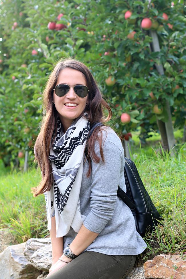 Wandern in Südtirol, Kurzurlaub Südtirol, Apfelbäume in Südtirol, Wandern zwischen Apfelbäumen in Südtirol