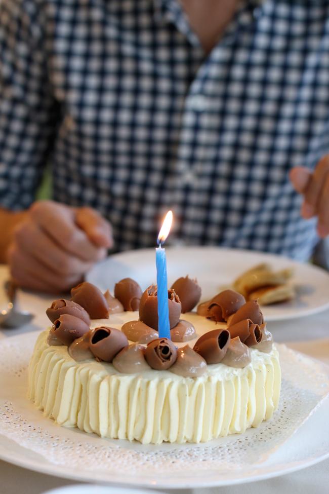 Geburtstagstorte am Gardasee