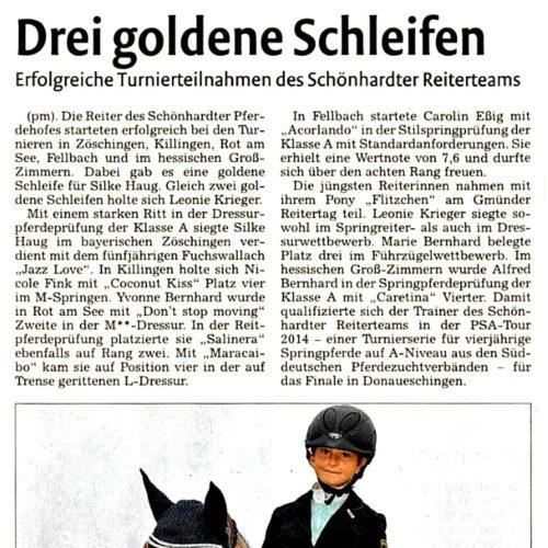 23 - Remszeitung vom 19. September 2014
