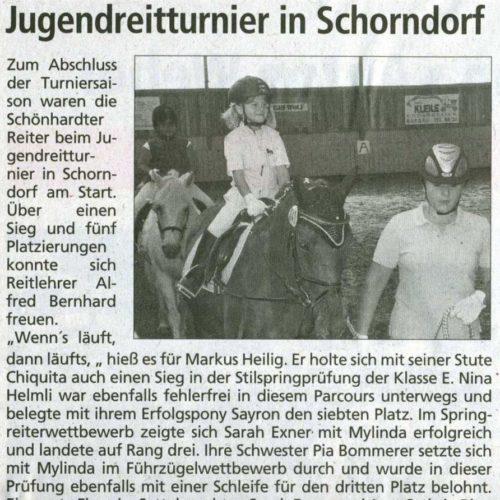 Gmuender Anzeiger 09.12.2009