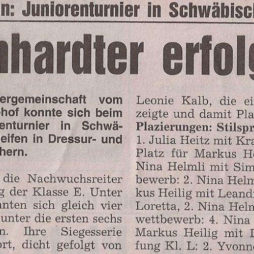 Rems-Zeitung vom 14.05.2008