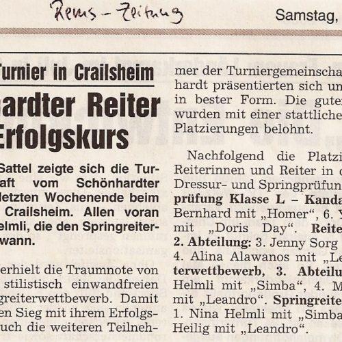 Rems-Zeitung vom 14.06.2008