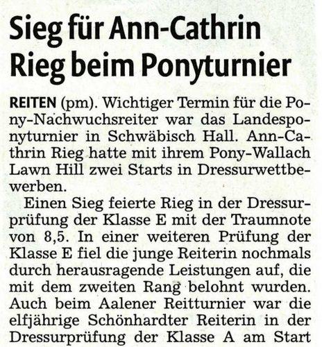 Rems-Zeitung vom 18.07.2011