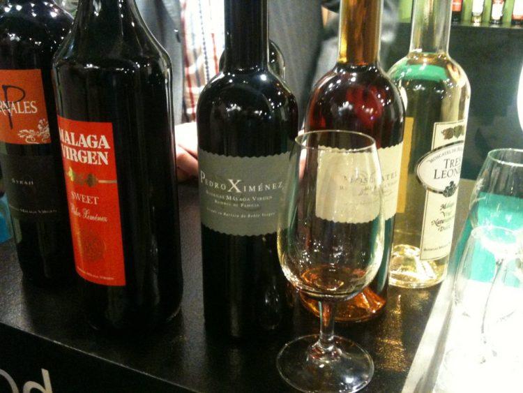Malaga Virgen wines