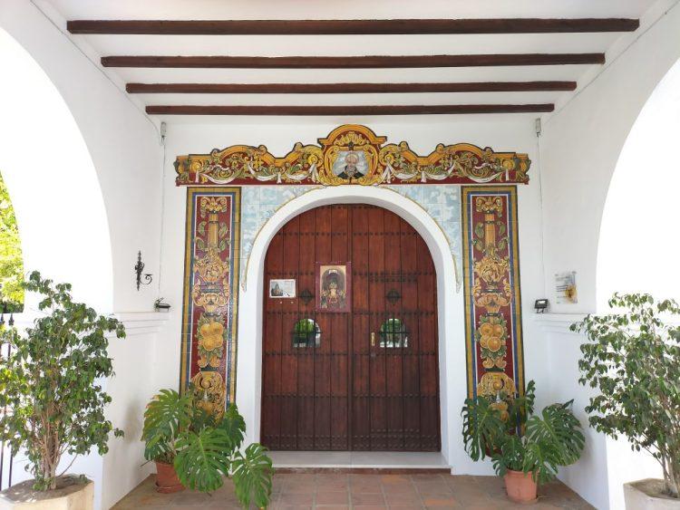 San Anton hermitage Cómpeta . Copyright Deborah Cater