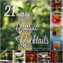 Classic Cocktail Drinks