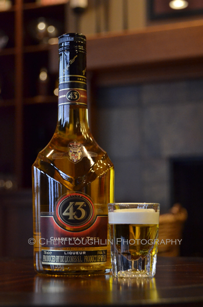 Licor 43 Mini Beer Layered Shot
