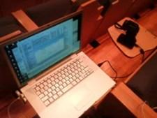 画像:PCとカメラセッティング