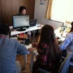 WordPress講習会の様子