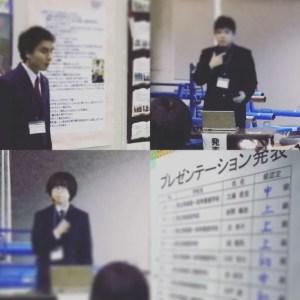 生徒さん三人のプレゼンテーションと合格発表結果