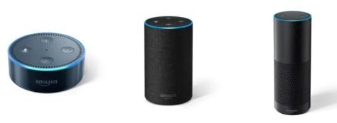 Amazonのスマートスピーカーシリーズ