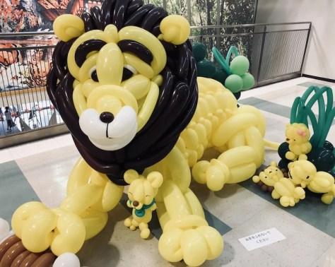 ライオンのバルーンアート