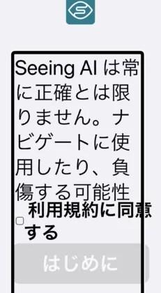 Seeing AIの画面