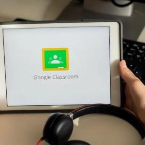 Googleクラスルームの画面
