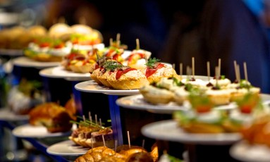 In parts of Spain, pintxos are a regional passion.