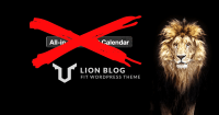 LIONBLOGとAll-in-One Event Calendar by Time.lyの相性が悪い