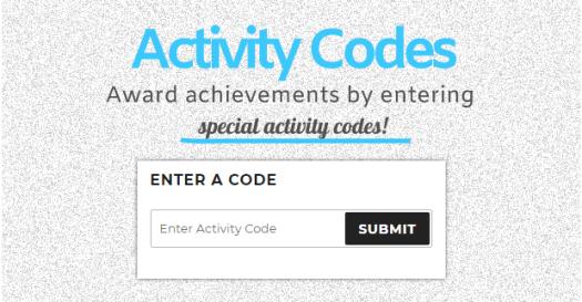 WPAchievements Activity Codes