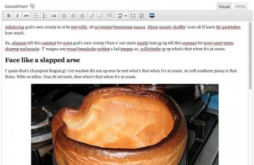 Mastering The WordPress Visual Editor