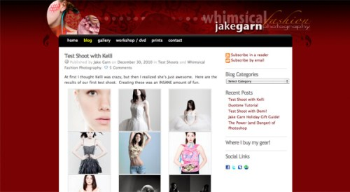How To Create a Photography Website