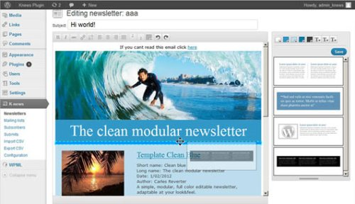 Knews Multilingual Newsletters