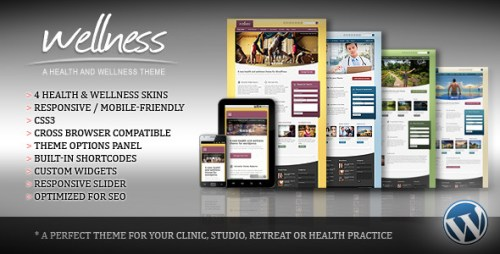 Wellness - Health & Wellness WP Theme