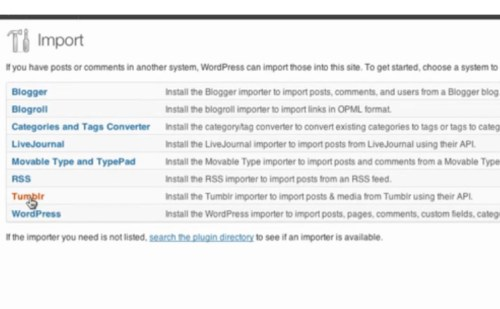 How to Import Your Tumblr Posts Into WordPress Blog