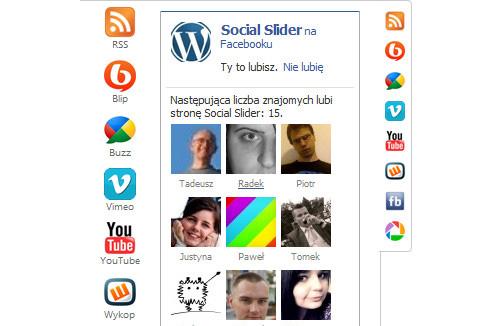 Social Slider