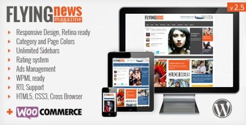 FlyingNews - Responsive WordPress Magazine